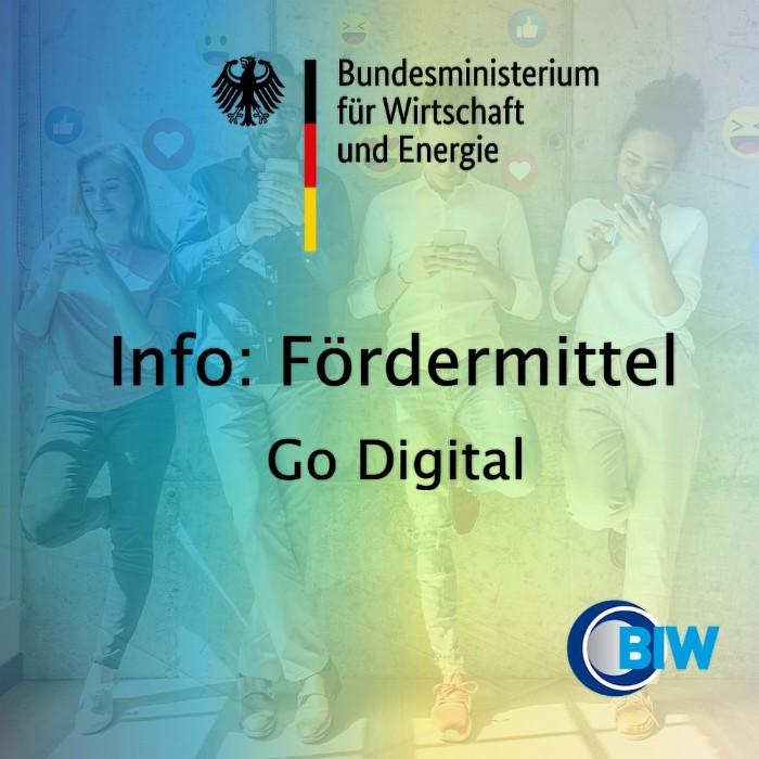 Fördermittel Digitalisierung Go Digital